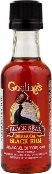 Goslings Black Seal Rum Miniature 5cl