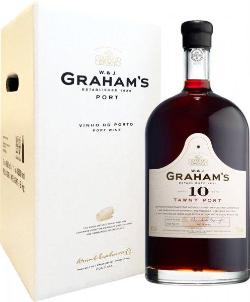Grahams 10 Year Old Tawny Port Rehoboam 4.5 litre