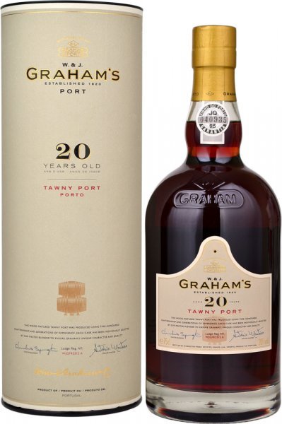 Grahams 20 Year Old Tawny Port 75cl in Branded Box