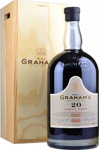 Grahams 20 Year Old Tawny Port Rehoboam 4.5 litre