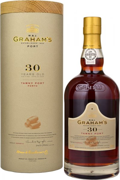 Grahams 30 Year Old Tawny Port 75cl in Branded Box
