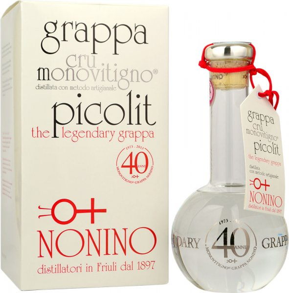 Grappa Monovitigno Picolit Cru 50%, Nonino 50cl