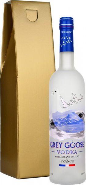 Grey Goose Vodka 70cl in Gold Gift Box