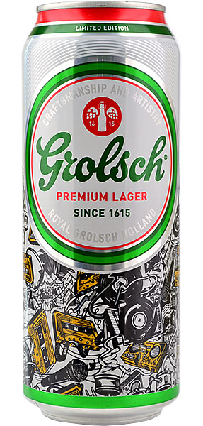 Grolsch Premium Lager 440ml CAN