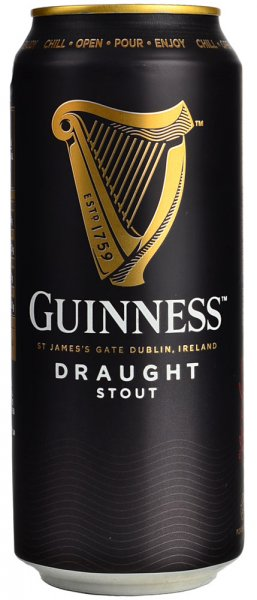 Guinness Draught Stout 440ml CAN