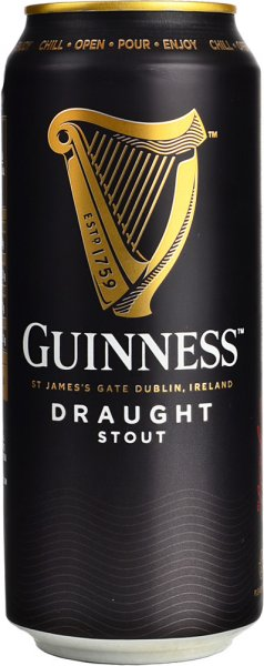Guinness Draught Stout 470ml CAN