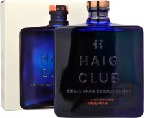Haig Club Single Grain Scotch Whisky 70cl in Branded Box