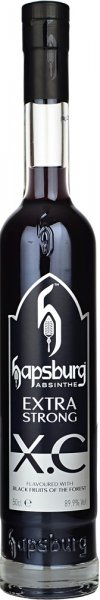 Hapsburg XC Black Fruits Of The Forest Absinthe 89.9% Extra Strong 50cl