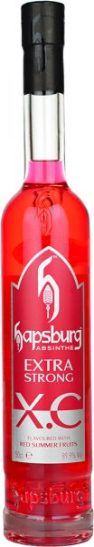 Hapsburg XC Red Summer Fruits Absinthe 89.9% Extra Strong 50cl