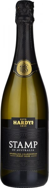 Hardys Stamps Chardonnay Pinot Noir Sparkling NV 75cl