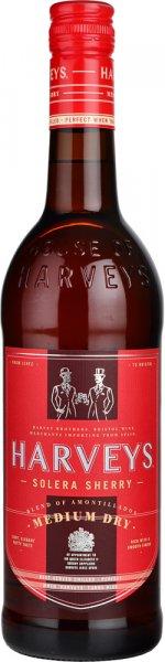 Harveys Amontillado Medium Dry Sherry 75cl
