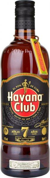 Havana Club Anejo 7 Year Old Rum 70cl