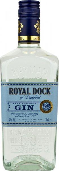Haymans Royal Dock Navy Strength Gin 70cl