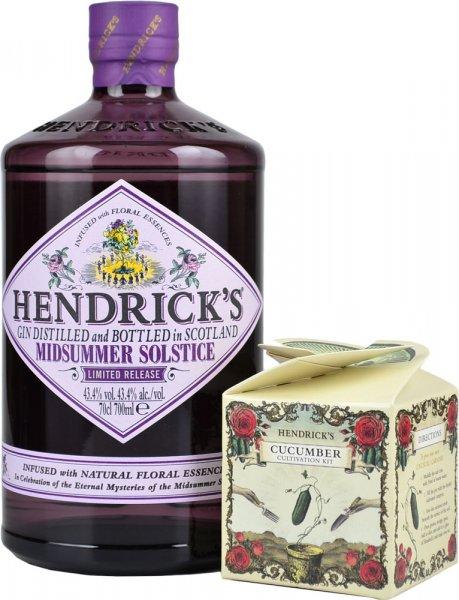 Hendricks Gin Midsummer Solstice 70cl & Cucumber Kit
