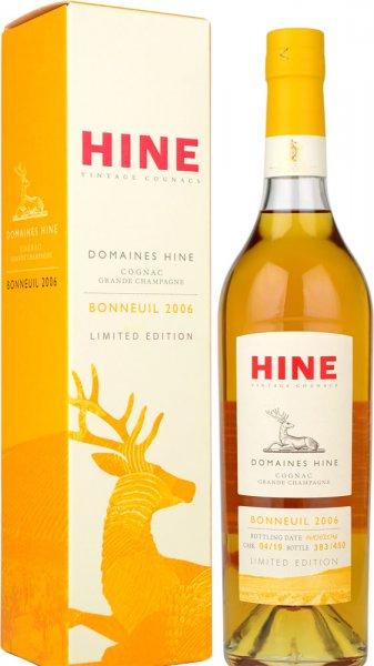 Hine Bonneuil Vintage 2006 Grande Champagne Cognac 70cl