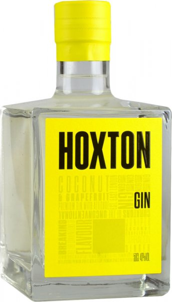 Hoxton Gin - Coconut & Grapefruit Flavoured 50cl
