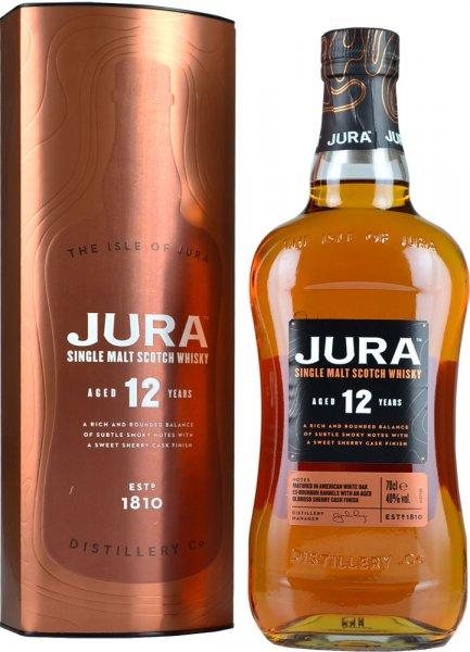 Isle Of Jura 12 Year Old Single Malt Scotch Whisky 70cl