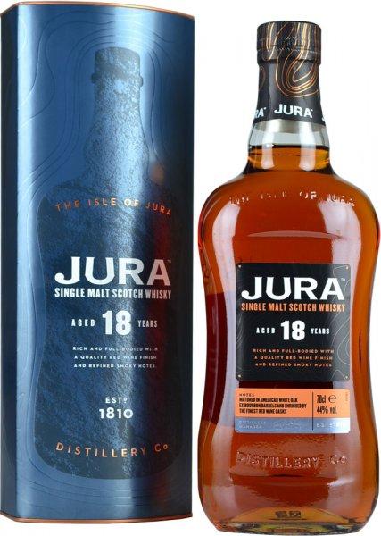 Isle Of Jura 18 Year Old Single Malt Scotch Whisky 70cl