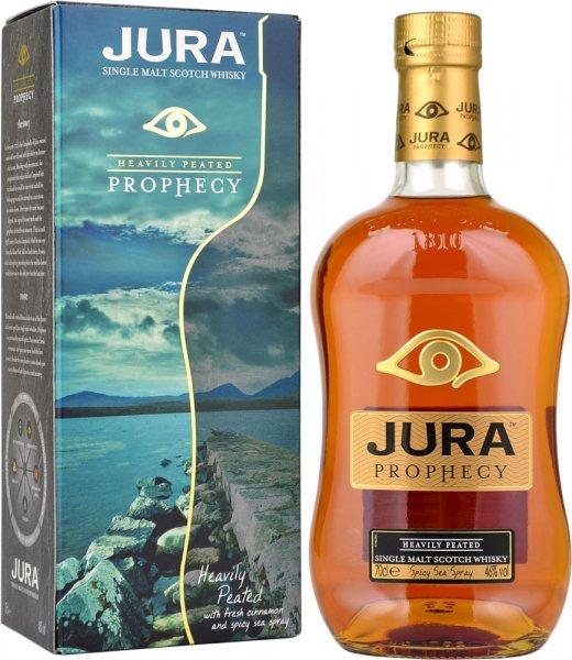 Isle Of Jura Prophecy Heavily Peated Single Malt Scotch Whisky 70cl
