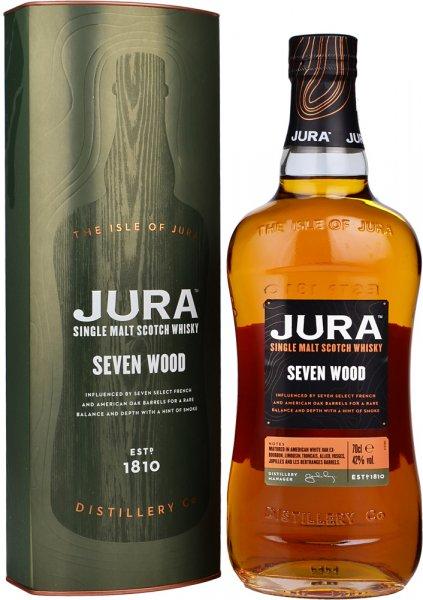 Isle of Jura Seven Wood Single Malt Scotch Whisky 70cl