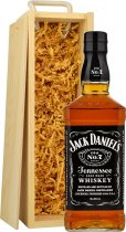 Jack Daniels 70cl in Wood Box (SL)
