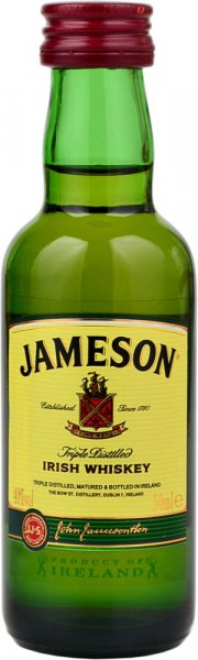 Jameson Irish Whiskey Miniature 5cl