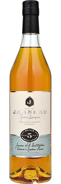 Janneau 5 Year Old Grand Armagnac 70cl