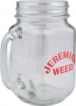 Jeremiah Weed Square Mason Jar **LIMITED EDITION**