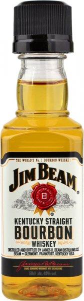 Jim Beam White Bourbon Miniature 5cl