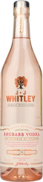 JJ Whitley Rhubarb Vodka 70cl