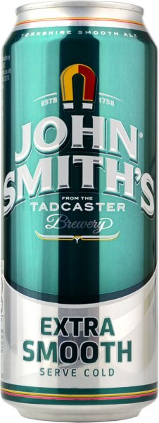 John Smiths Extra Smooth Draught Bitter 440ml CAN