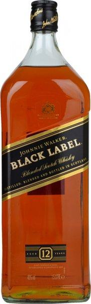Johnnie Walker Black Label 12 Year Old Whisky 1.5 litre