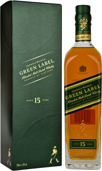 Johnnie Walker Green Label 15 Year Old 70cl