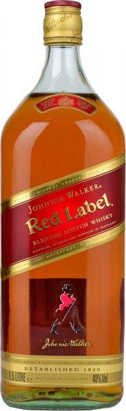 Johnnie Walker Red Label Blended Scotch Whisky 1.5 litre