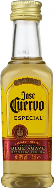 Jose Cuervo Especial Gold Tequila Miniature 5cl