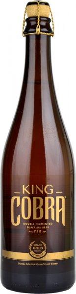 King Cobra Lager Beer 750ml Bottle