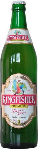 Kingfisher Premium Lager Beer 650ml Bottle
