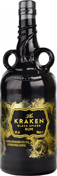 Kraken Black Spiced Rum Unknown Deep #01 Limited Edition Bottle 2020 70cl