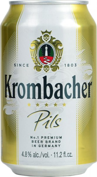 Krombacher Pils Lager 330ml CAN