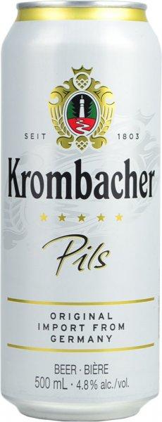 Krombacher Pils Lager 500ml CAN