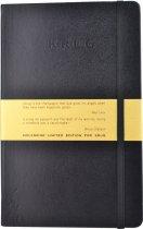 Krug Black Moleskine Notebook