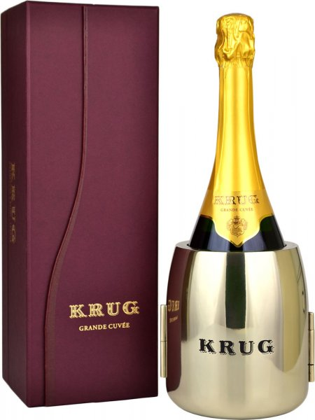 Krug Grande Cuvee NV Champagne 75cl + Refraich Butler Service