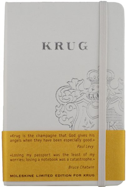 Krug White Moleskine Notebook
