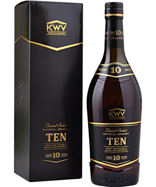 KWV 10 Year Old Brandy 70cl
