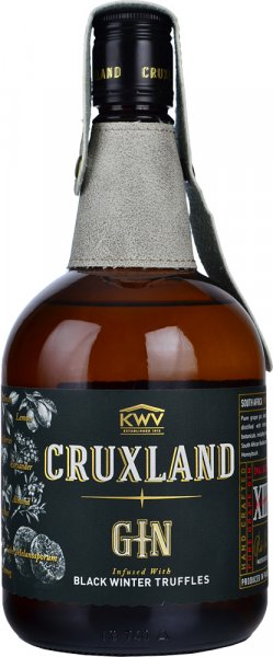 KWV Cruxland Gin infused with Black Winter Truffles 70cl