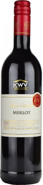 KWV Merlot 2018/2019 75cl