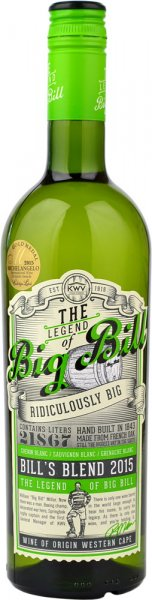 KWV The Legend of Big Bill White 75cl