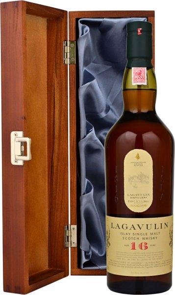 Lagavulin 16 Year Old in Wood Box (LH)