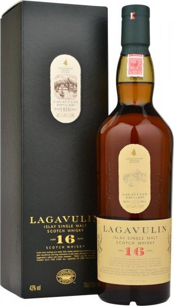 Lagavulin 16 Year Old Malt Whisky 70cl