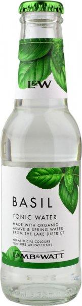 Lamb & Watt Basil Tonic Water 200ml NRB